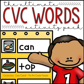 Filling In The Gaps {The Ultimate CVC Practice Packet!}