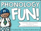 Final Consonant Deletion {Phonology Fun!}