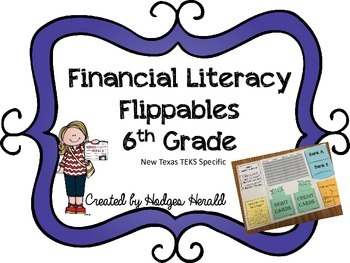 Financial Literacy Flippables