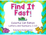 Find It Fast - Colorful Cat Edition