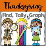 Thanksgiving Math - Find, Tally and Graph