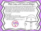 Finding Main Idea and Details-Bags!