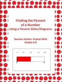 Finding Percent of a Number: Make a percent slider (Plus w