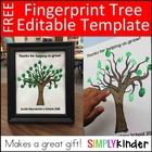 Fingerprint Tree - Editable Gift