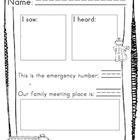 Fire Prevention {response sheet & plan}
