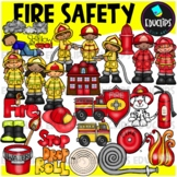 Fire Safety Clip Art Bundle