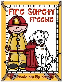 Fire Safety Freebie!