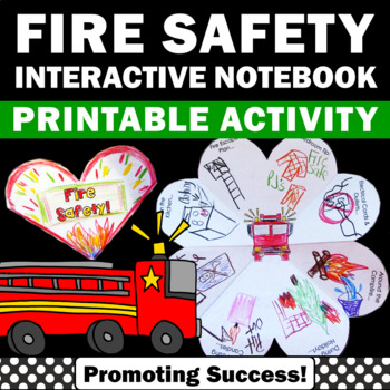 Fire Safety Activities Interactive Notebook Foldable