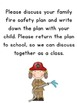 Fire Safety Plan Freebie