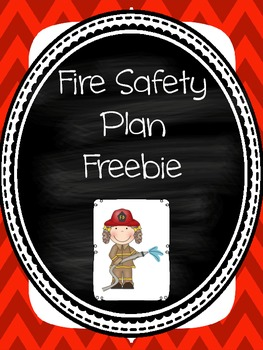 Fire Safety Plan Freebie