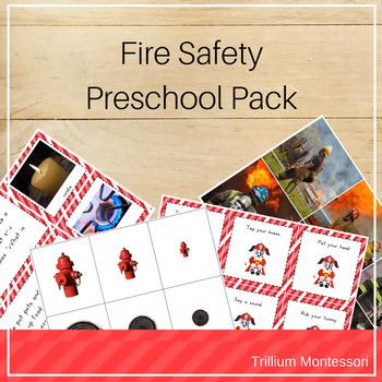 Fire Safety Preschool Pack