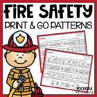 Fire Safety Printable Patterns Packet