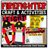 Firefighter Writing Craftivity