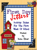 First Day Jitters ~ Back To School Activity Unit For The F