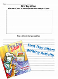 First Day Jitters Writing Activity - 3rd Grade