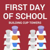 First Day of School Icebreaker- Cup Towers