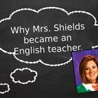 First Days: Why I Became an English Teacher PowerPoint