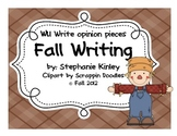 First Grade Common Core - Fact and Opinion Writing