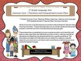 1st Grade Common Core Language Arts Checklists and Drop Do