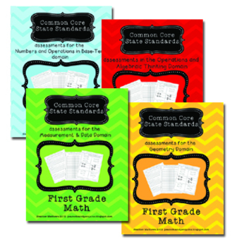 First Grade Common Core State Standard Mathematics Assessm