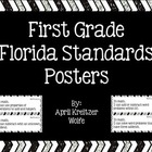 First Grade Florida Standards Posters
