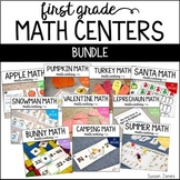 First Grade Math Centers for the Whole Year!