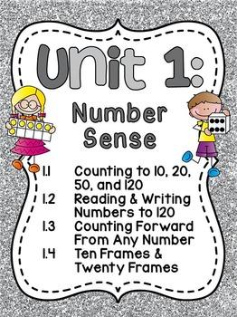 First Grade Math Unit 1