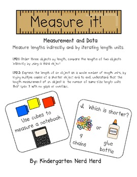 First Grade: Measure It!