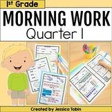 Morning Work for 1st Grade Common Core 1st Quarter