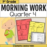 Morning Work for 1st Grade Common Core 4th Quarter