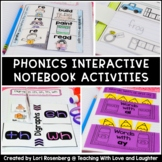 First Grade Phonics Interactive Notebook
