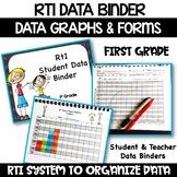 First Grade RtI Data Binder:  Graphs & Pages for Teacher a