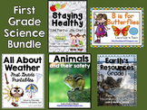 First Grade Science Bundle