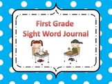 First Grade Sight Word Journal