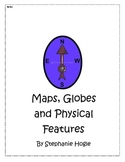 First Grade Social Studies Map & Physical Features Book