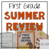First Grade Summer Skills Review Packet