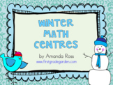 First Grade Winter Math Centres