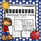 First Grade September  Morning Work Pack