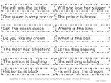 First Royal Statements and Questions