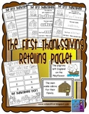 First Thanksgiving Story Retelling Packet