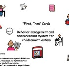 """First, Then"" Cards - Behavior Management for Children wit"