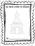 First Week of School Printable Book
