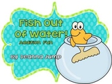 Fish Out of Water!  Math Addition Game Freebie