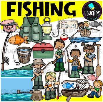 Fishing Clip Art Bundle