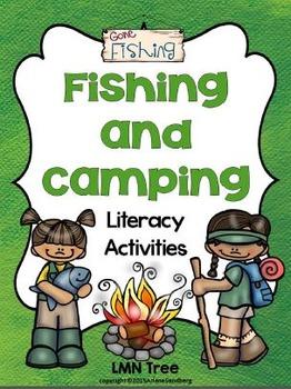 Fishing and Camping Literacy Activities Packet: Grades 1-2