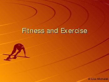 Fitness and Exercise PowerPoint Presentation Lesson Plan
