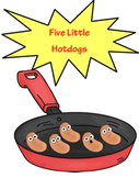 Five Little Hot Dogs (Common Core Karaoke)