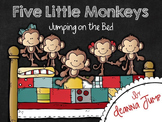Five Little Monkeys Jumping on the Bed Math & Literacy Fun!