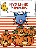 Five Little Pumpkins and a Groovy Cat...Craft and Activiti