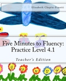 Five Minutes to Fluency Practice Level 4.1: Common Core St
